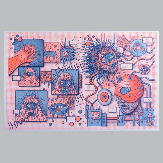 Image of Melted Risograph