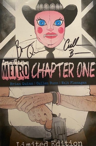 Image of METRO Chapet 1 - AUTOGRAPHED