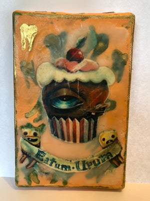 Image of Eatum Upum - mixed media 1 of a kind piece!