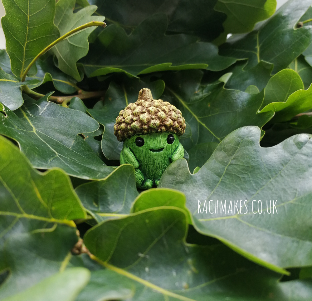 Image of Spring Green Acorn Baby
