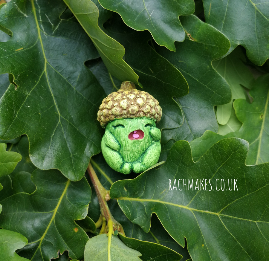 Image of Spring Green Cry Baby Acorn