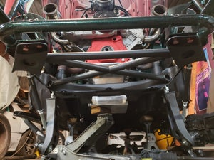 Image of Z31 front X-braced power brace