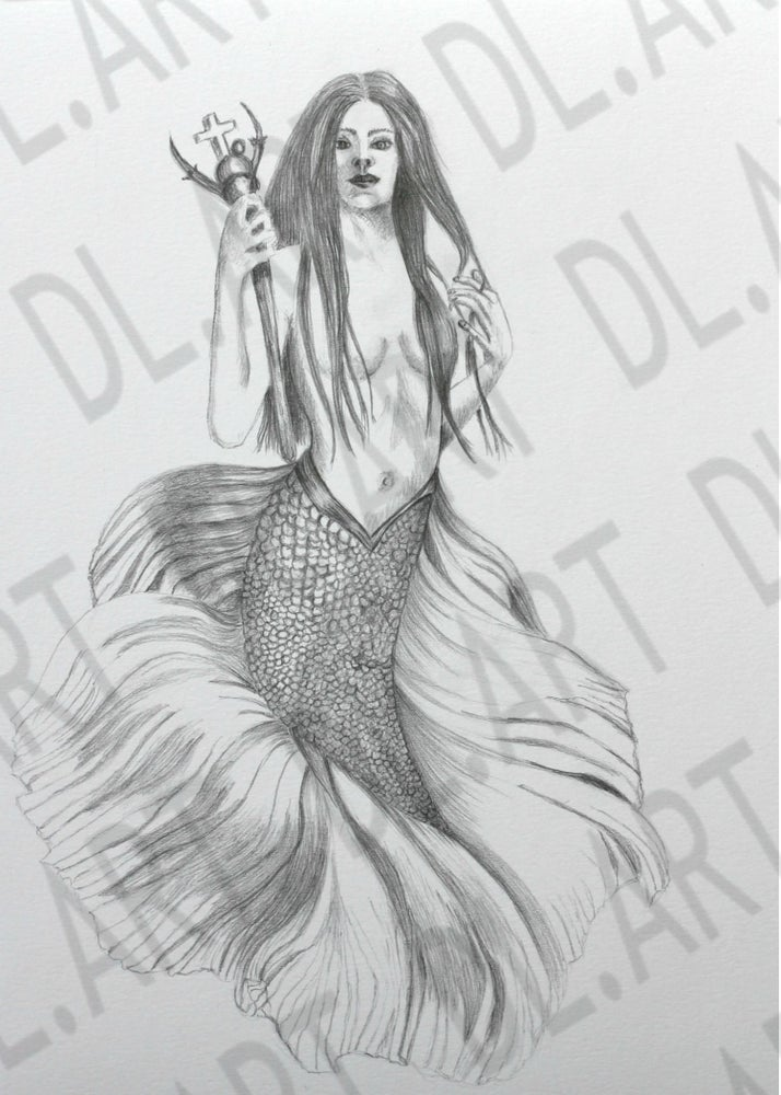 Image of Mermaid Warrior
