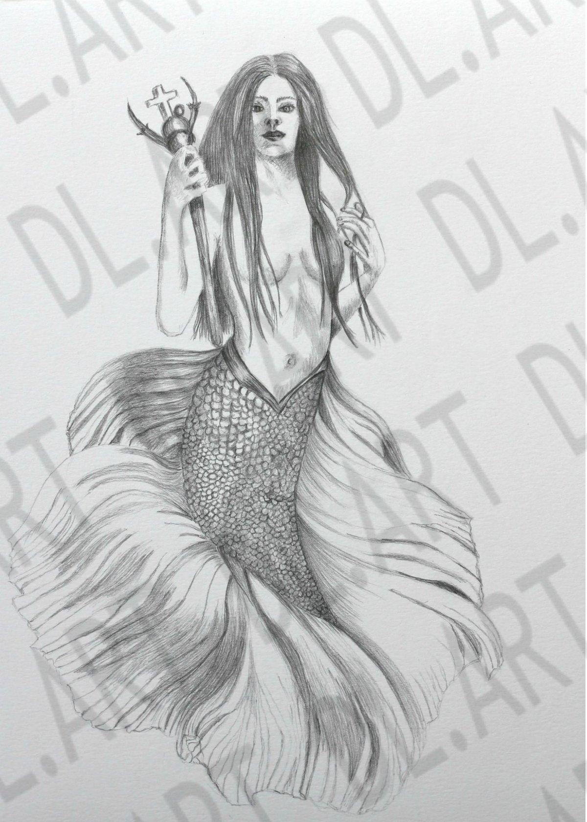 Image of Mermaid Warrior