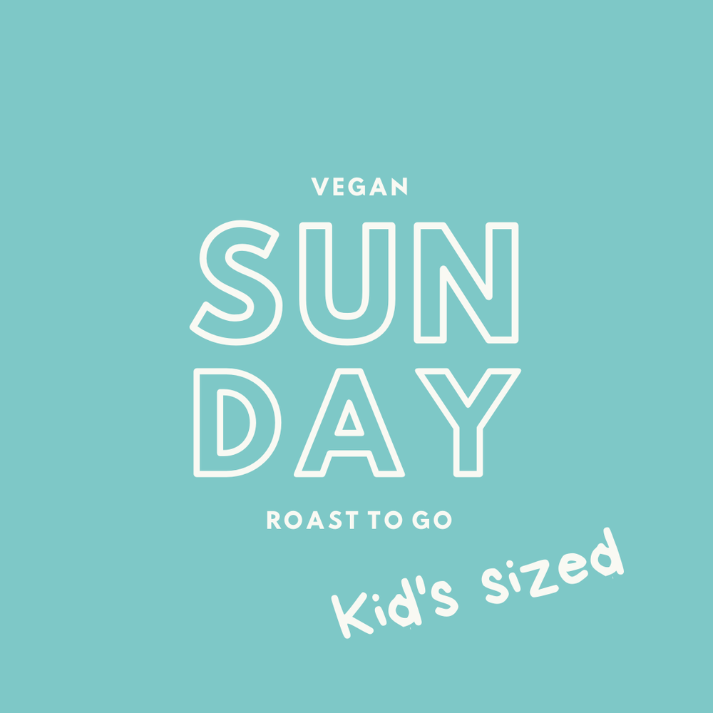 Kid's Vegan Sunday Roast To Go - 14th June