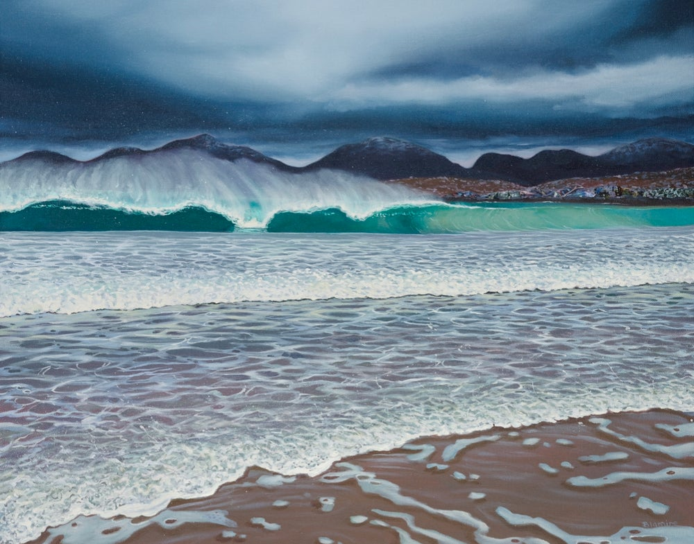 Image of Storm Douglas Harris print