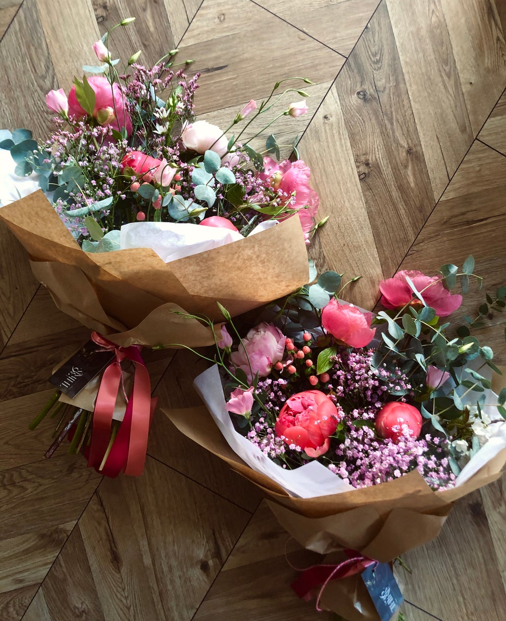 Image of GIVE ME A POW FOR PEONIES