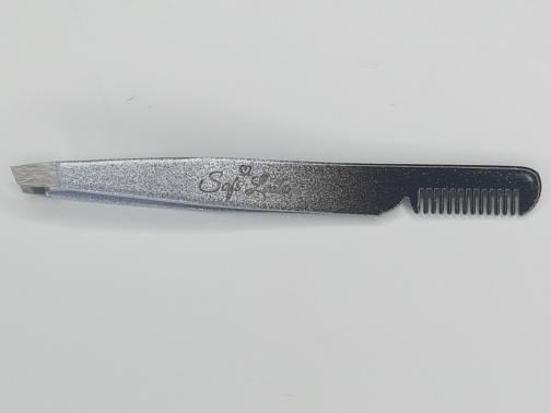 Image of Tweezer with Comb (Silver)