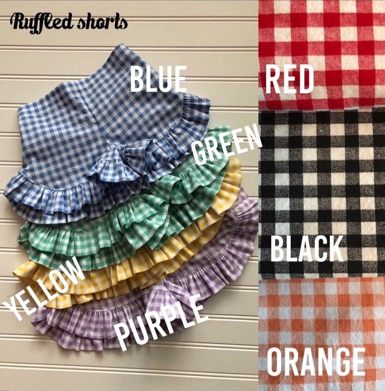 Image of Ruffled Shorts