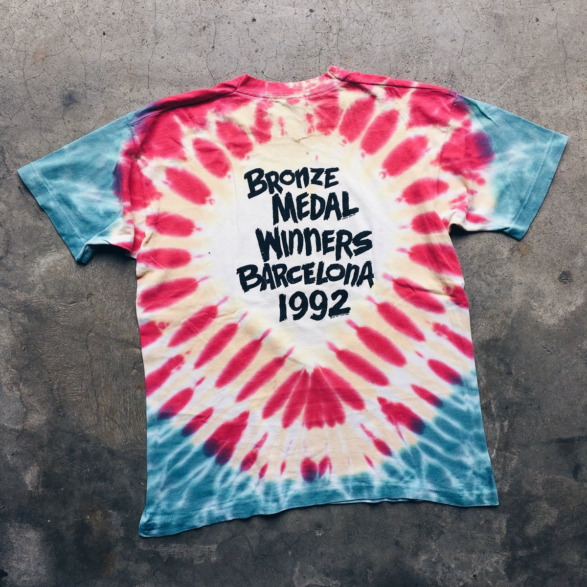 Image of Original 1992 Grateful Dead Lithuania Shirt.