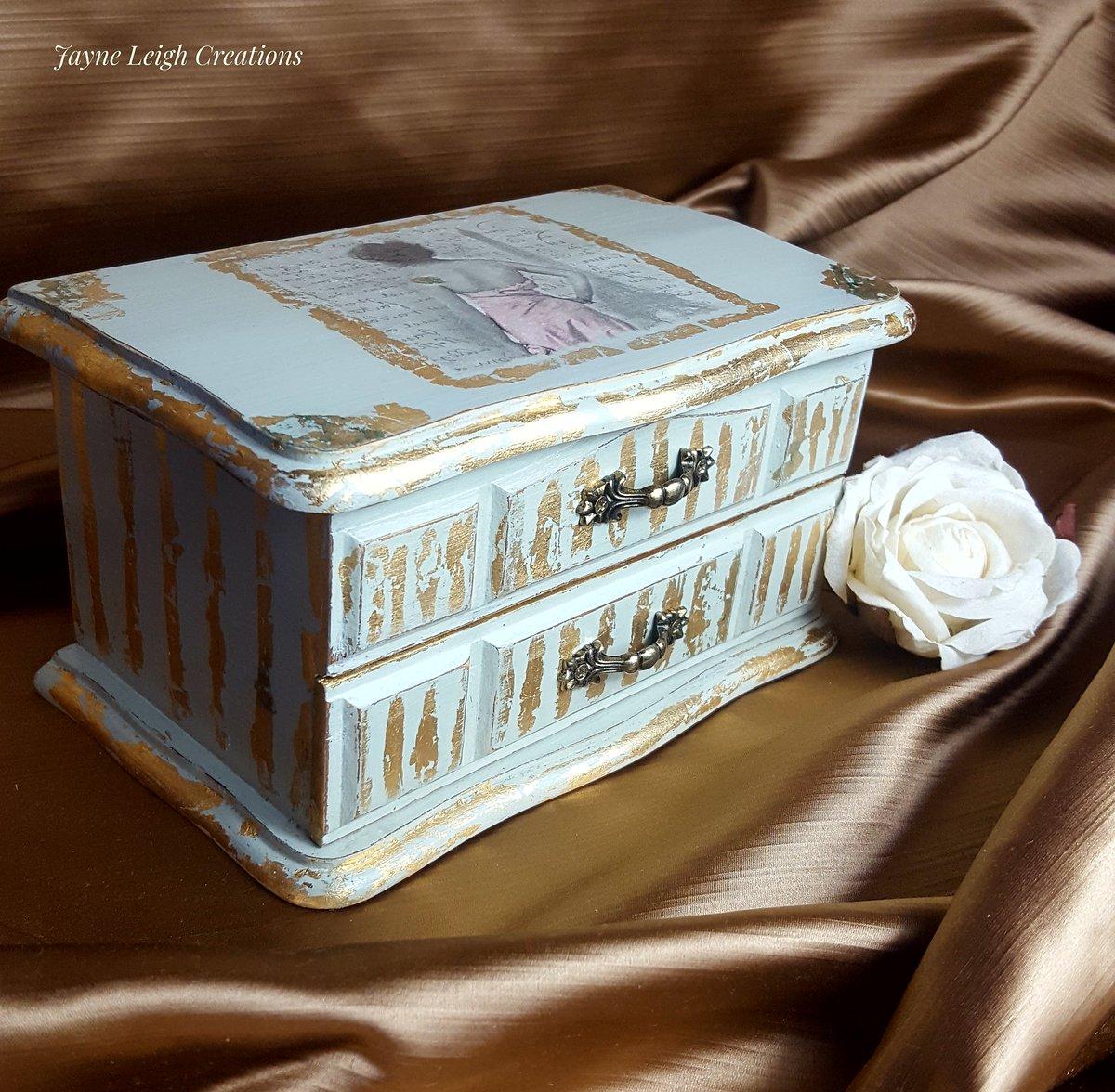 Image of Shabby Chic Jewellery Box