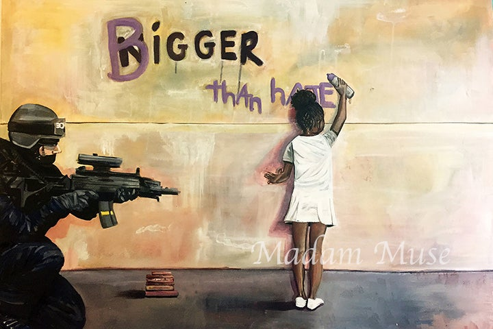 """Image of """"Bigger Than Hate""""  Open Edition Prints"""
