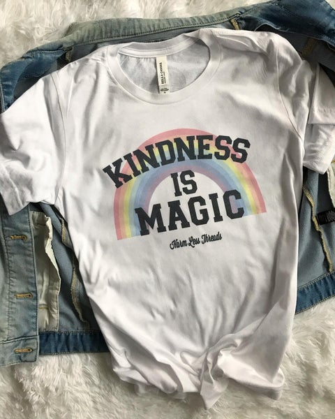 Image of Kindness is magic unisex tee