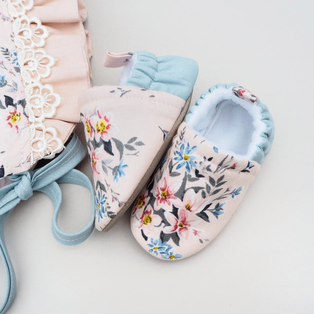 Image of Liberty Winterbourne soft soled baby shoes