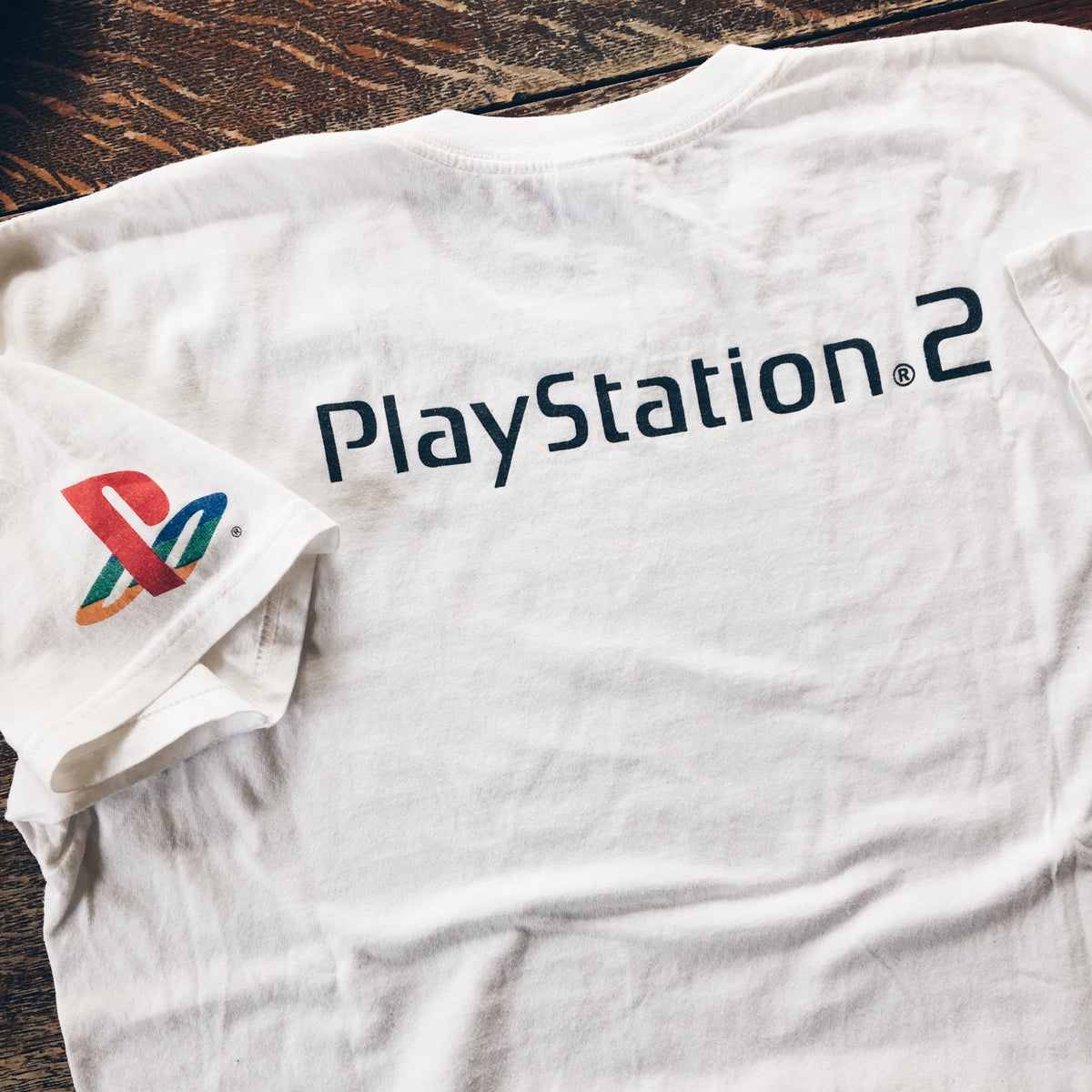 Image of Original Early 2000's Promo 989 Sports PS2 Tee.