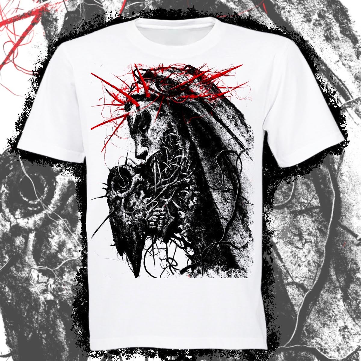 RED THORNS T-SHIRT