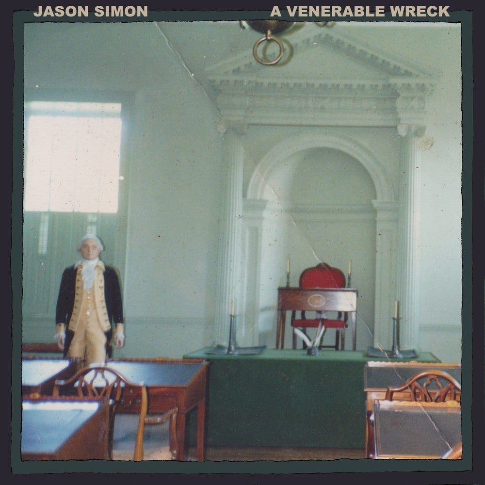 "Image of Jason Simon ""A Venerable Wreck"" LP"