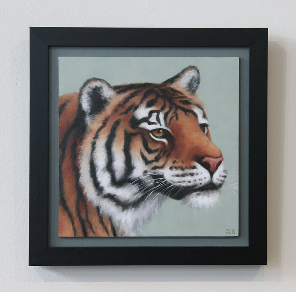 "Image of Tiger ""ART FOR GOOD"" Original Oil Painting"