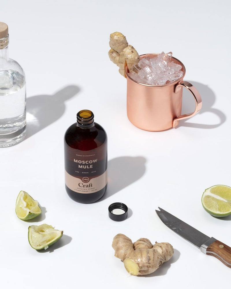 Image of W&P Designs Moscow Mule Cocktail Syrup