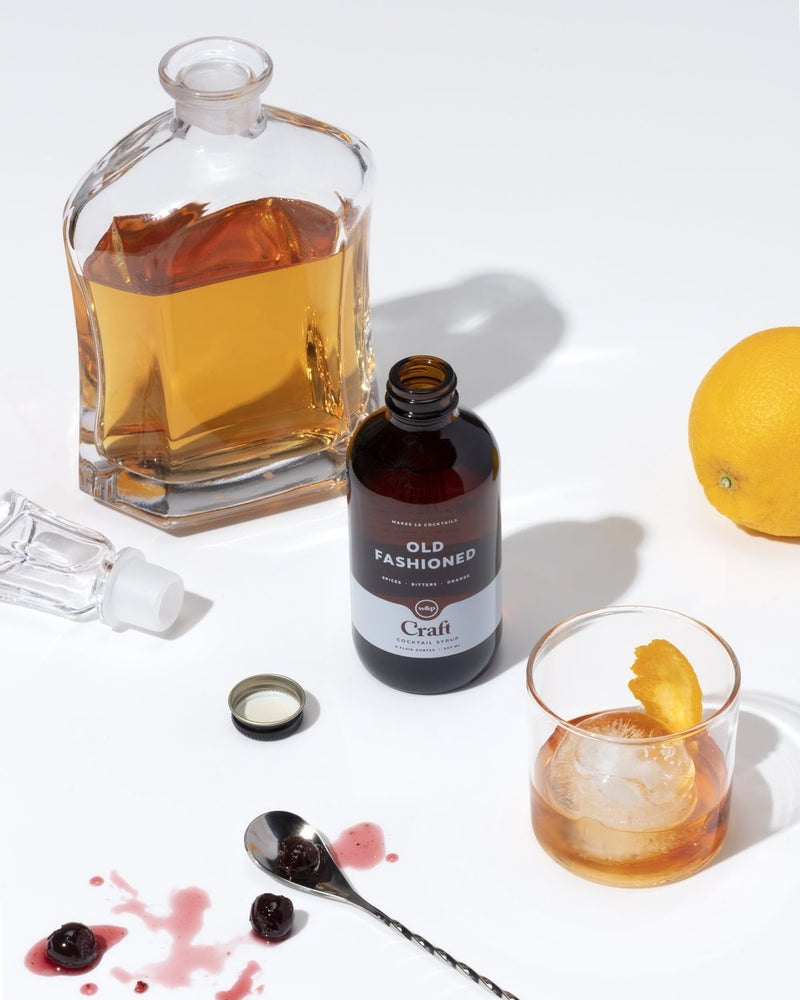 Image of W&P Designs Old Fashioned Cocktail Syrup