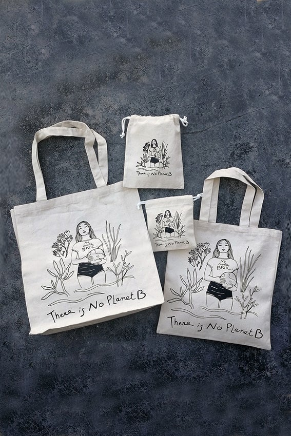 Image of Cotton Bags _ NO PLANET B
