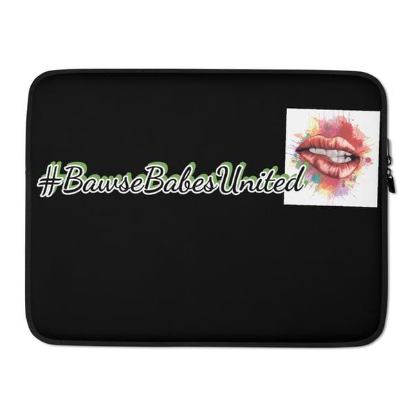 Image of #BawseBabesUnited💋 Bawsey Laptop Sleeve