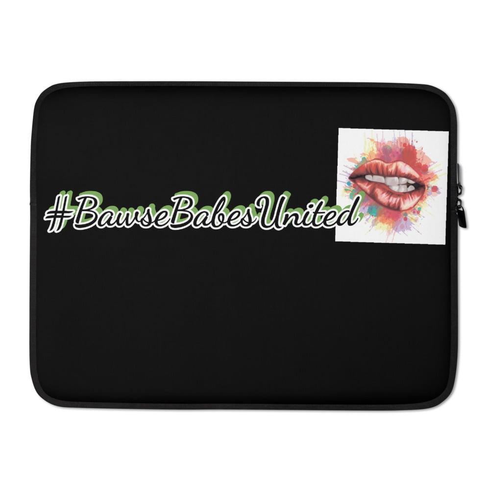 #BawseBabesUnited💋 Bawsey Laptop Sleeve
