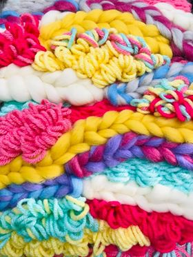 Pastel Dream Fibre Pack with Weaving Recipe