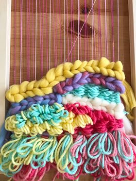 Image of Pastel Dream Fibre Pack with Weaving Recipe