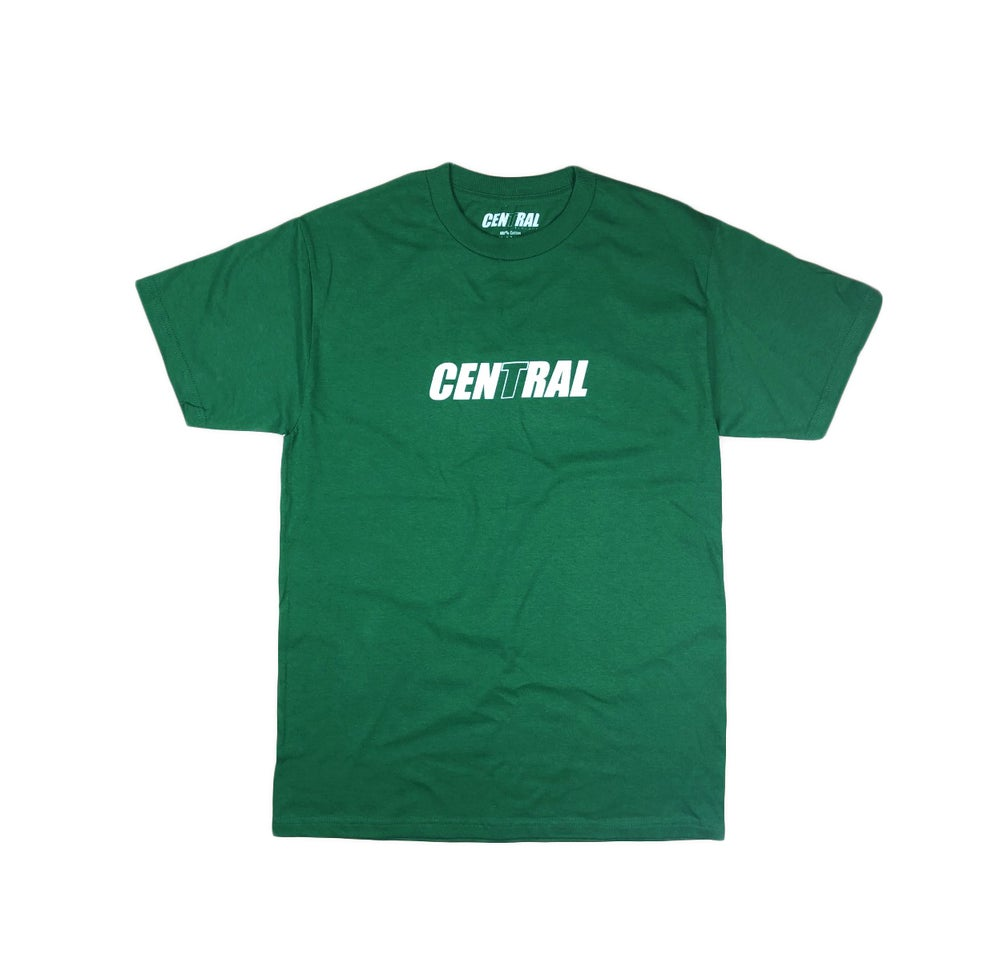 Image of Central Library Logo T-Shirt - Kelly Green
