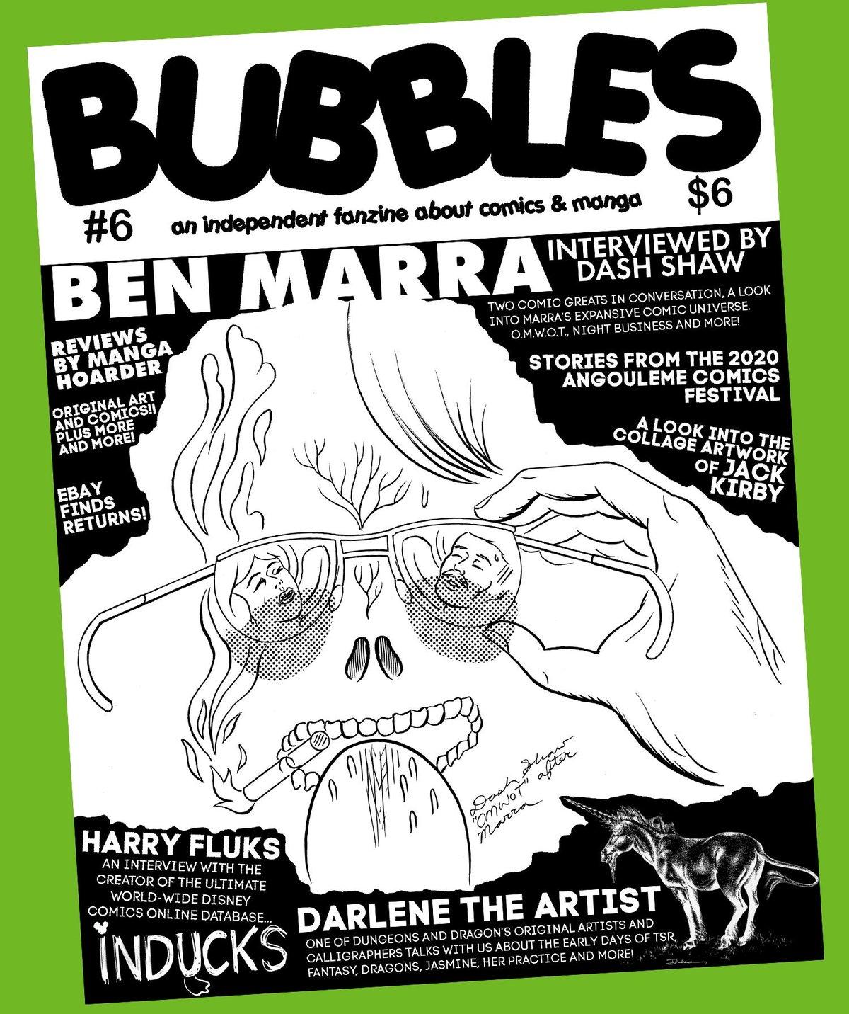Image of Bubbles zine #6