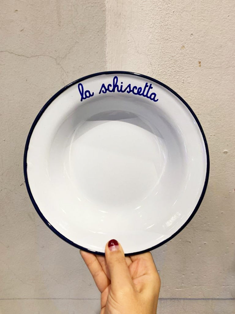 Enamel Dish LA SCHISCETTA