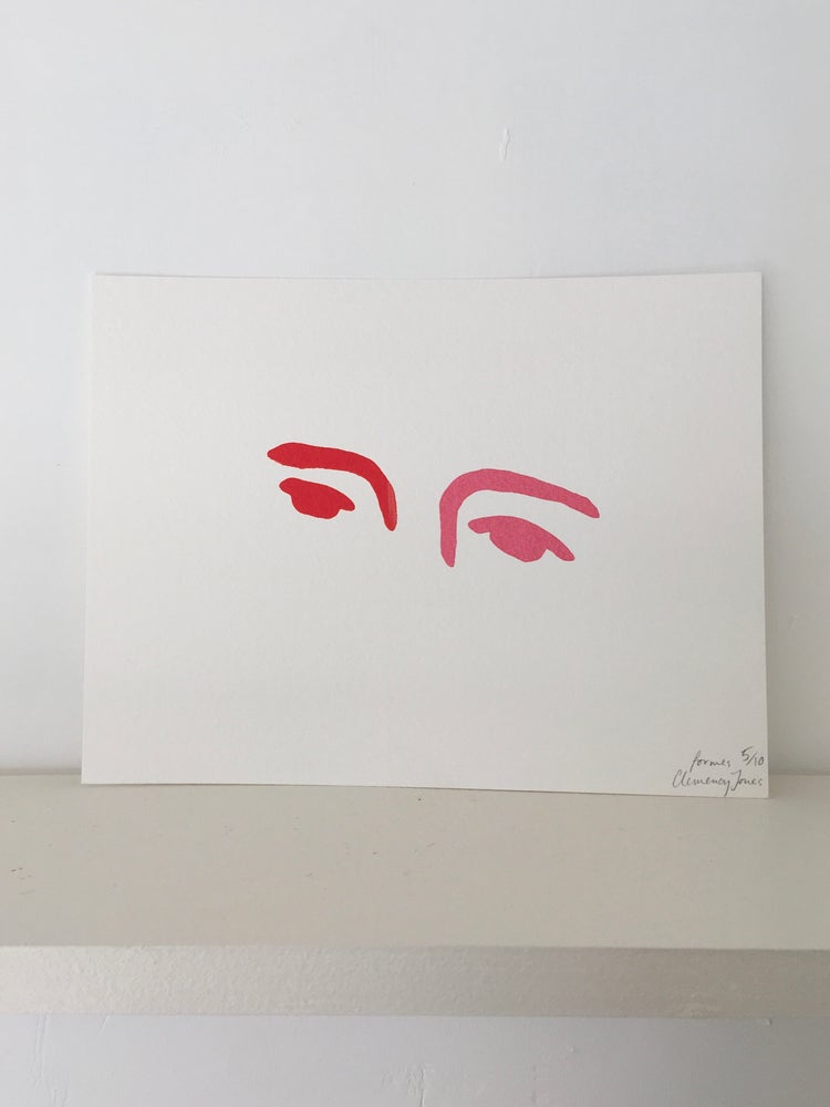 Image of Eyes Print