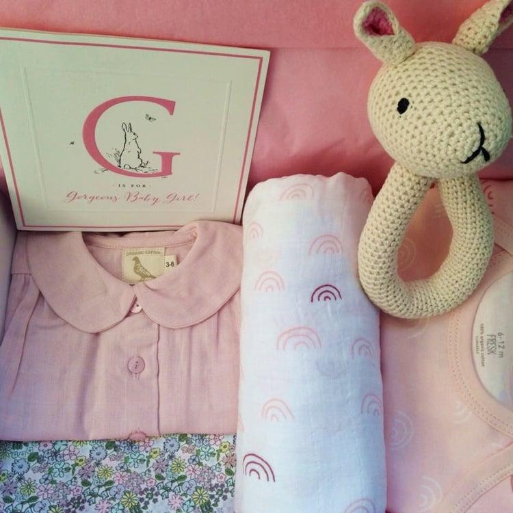 Image of Country Garden Baby Girl Box