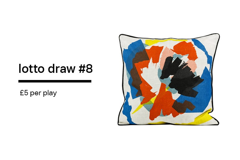 Image of Lotto Draw #8- Bloom- 55 x 55 cm