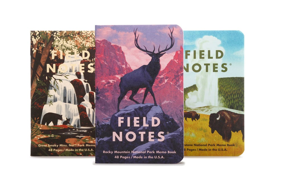 Image of Field Notes National Parks Series C (Limited Edition)