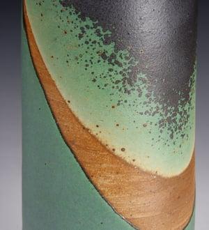 Green matt bottle (e016)