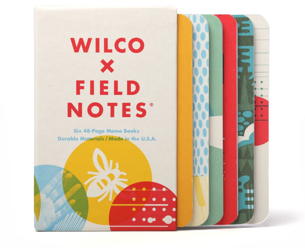 Image of Field Notes Wilco (Limited Edition)- Set of Six