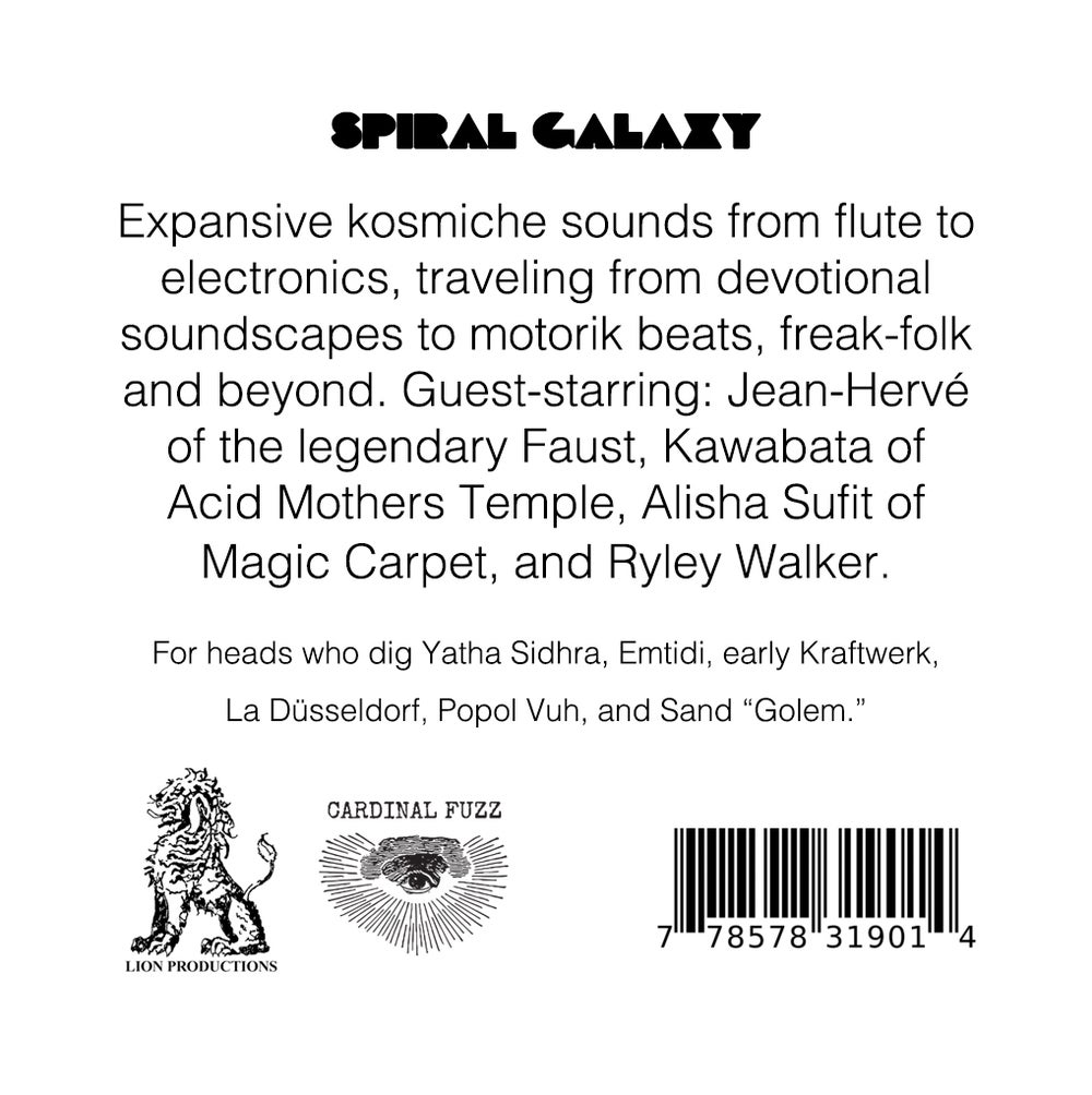 Spiral Galaxy - S/T REPRESSING (LTD MARBLE VINYL) CARDINAL FUZZ 1 Left