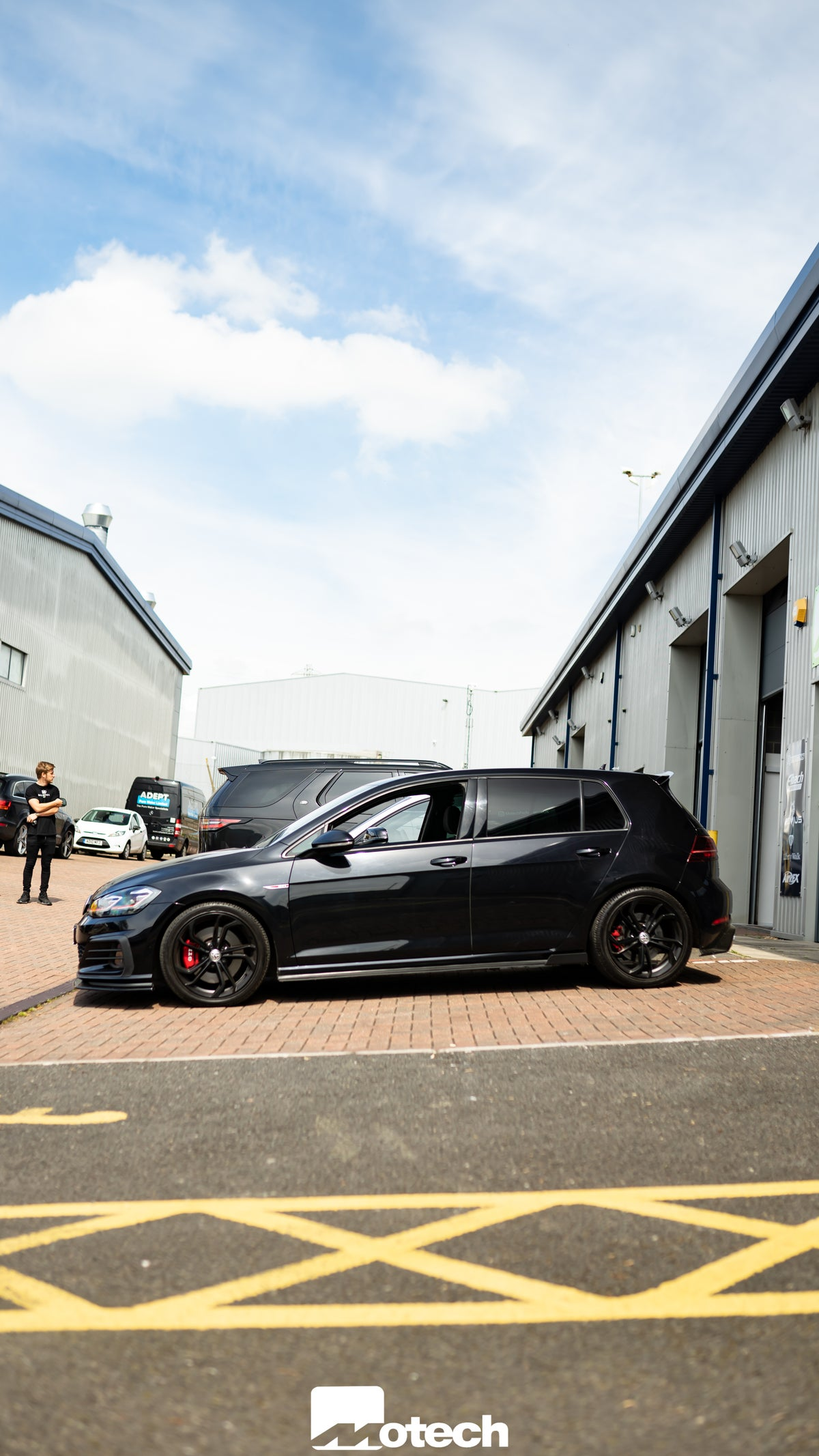 Image of VW Golf GTI MK7 7.5 Eibach Lowering Springs