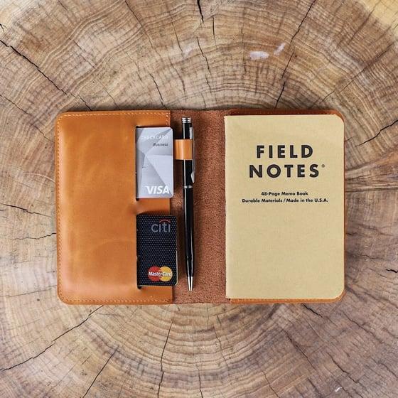 Image of Flint Leather Co. Avis Pocket Journal