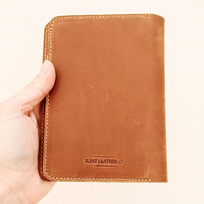 Image of Flint Leather Co. Avis Pocket Journal