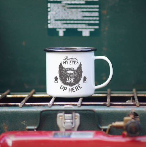 Image of Enamel Co. Camping Mug- BEARD LUST