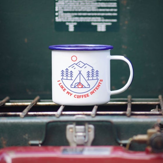 Image of Enamel Co. Camping Mug- INTENTS