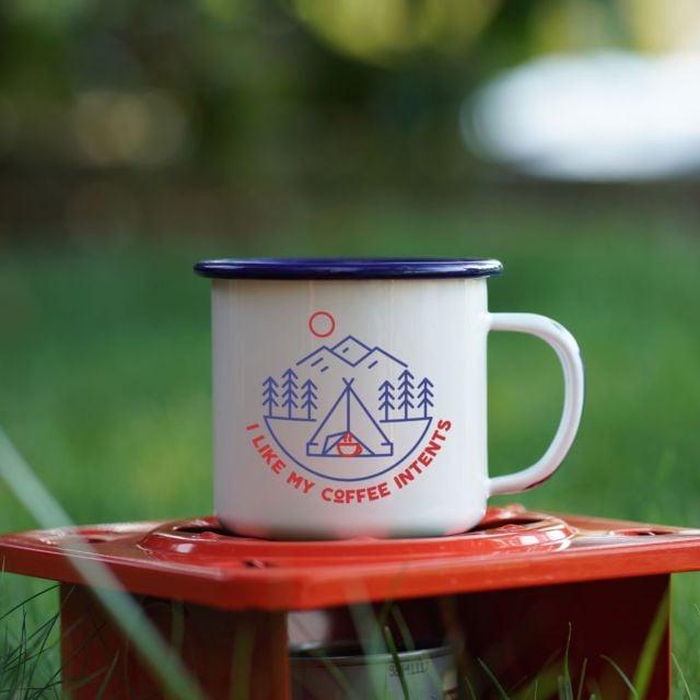 Image of Enamel Co. Camping Mug- INTENTS