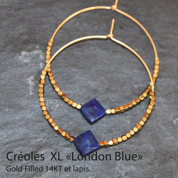 Image of CREOLES XL LONDON BLUE
