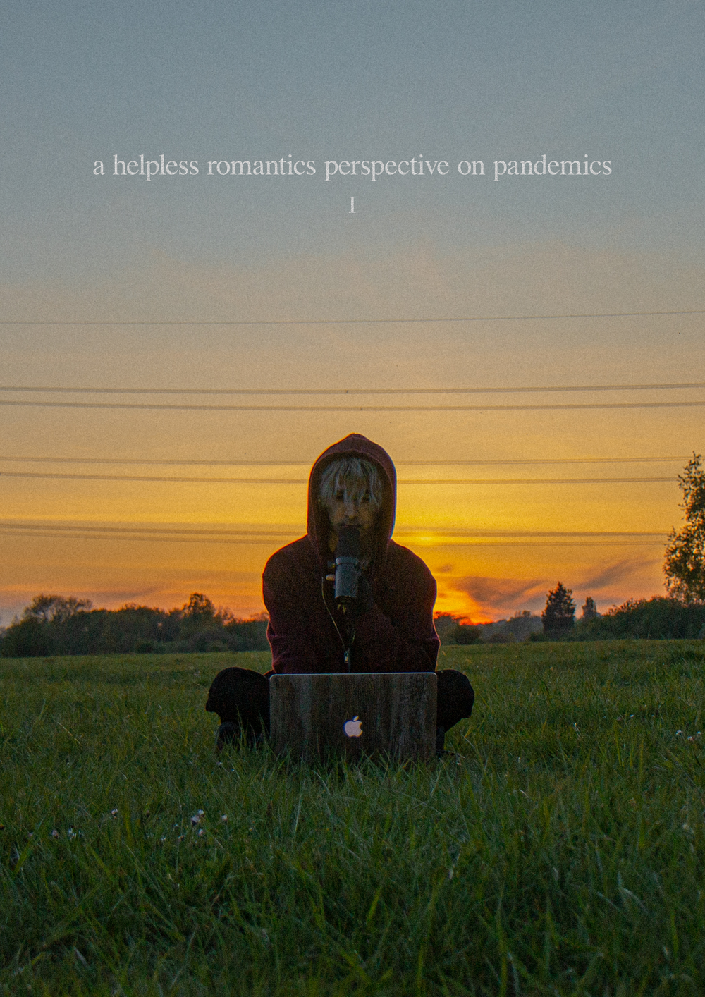 Image of a helpless romantics perspective on pandemics A3 poster