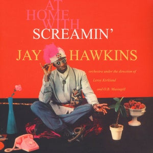 Image of LP. Screamin' Jay Hawkins : At Home With.    Special Offer.