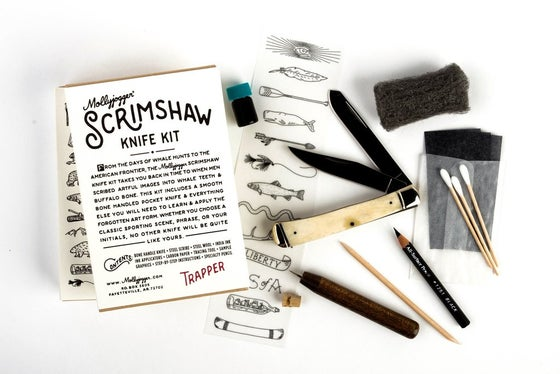 Image of Mollyjogger Scrimshaw Knife Kit