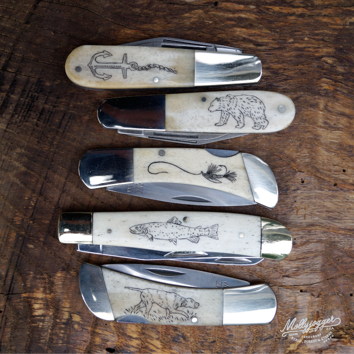 Image of Molly Jogger Bear & Sons Scrimshaw Kit